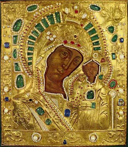 Казанская-икона-божьей-матери---