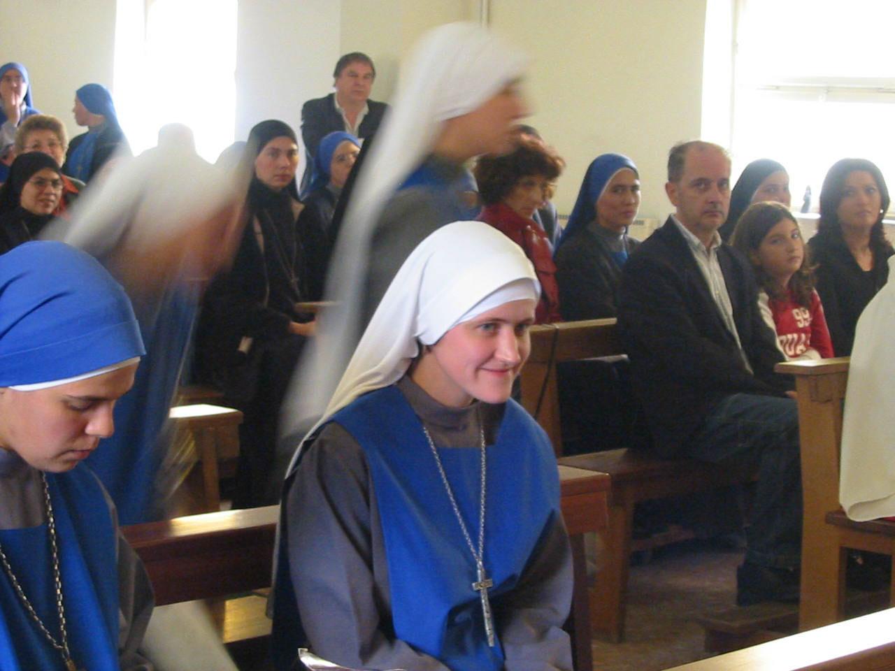 Облачение сестры Марии Умиления