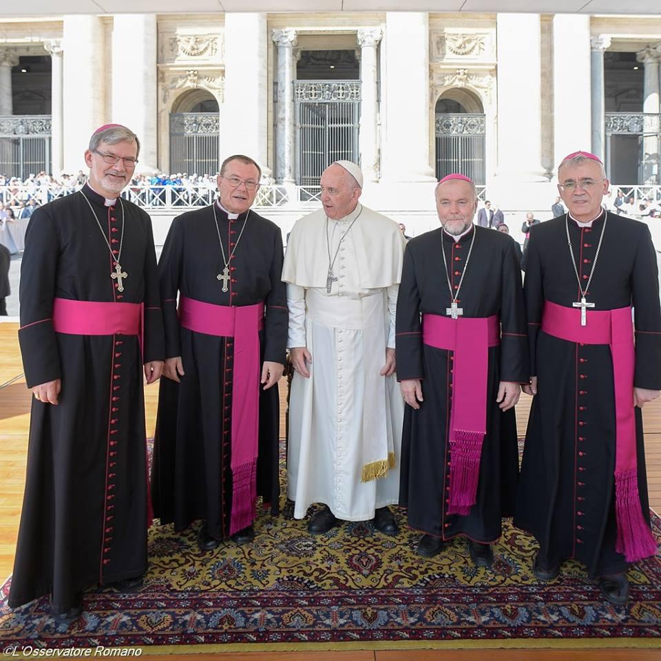 Епископы и Папа